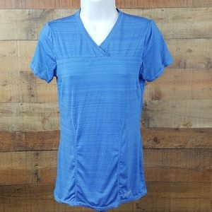 Head Women's Athletic Exercise Top Blue Size XS